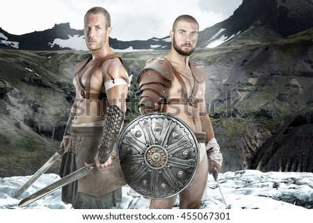 Gladiator Fight Stock Images, Royalty-Free Images & Vectors ...