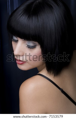 glamorous Woman - stock photo