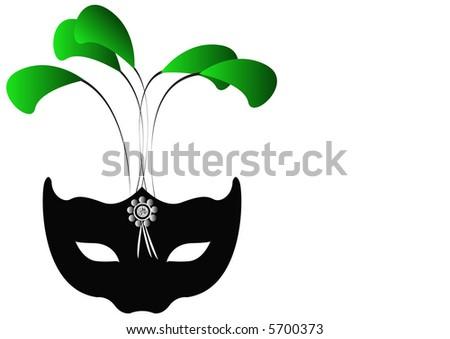 Glamour Mask - stock photo