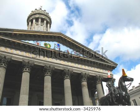 Glasgow Gallery of Modern Art - stock photo