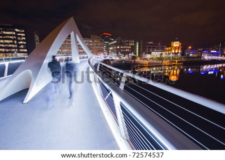 Glasgow Squiggly Bridge
