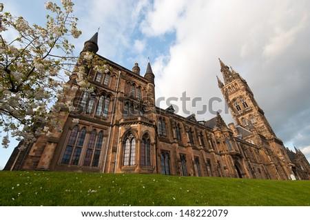Glasgow University, Scotland - stock photo