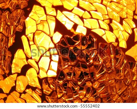 Glass and Light Textured Background 1 - stock photo