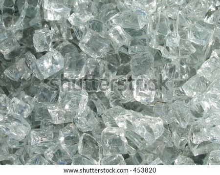 Glass background - stock photo