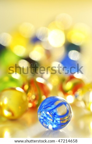 glass balls - stock photo