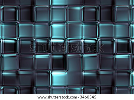Glass block abstract background texture - stock photo