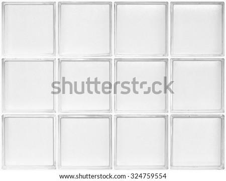 Glass Block White Frame Seamless Background Stock Photo (Download ...