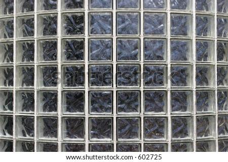 Glass Bricks - stock photo