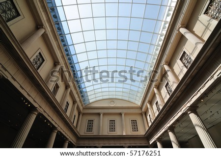 Glass ceiling - stock photo