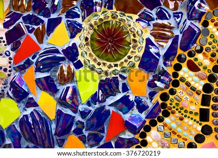 glass colorful design pattern background