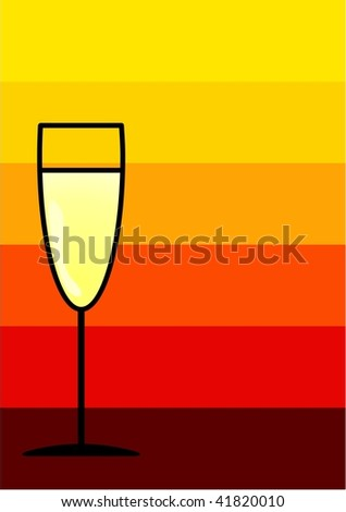 Glass design background - stock photo
