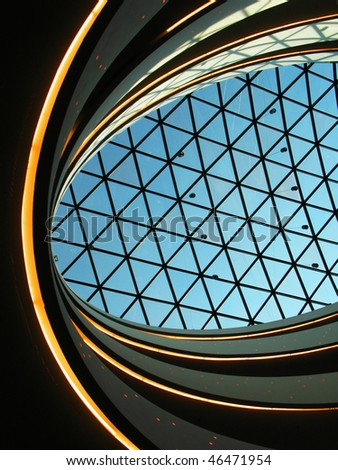 Glass dome - stock photo