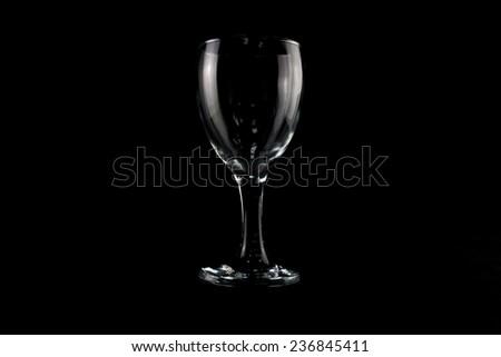 Glass empty  - stock photo
