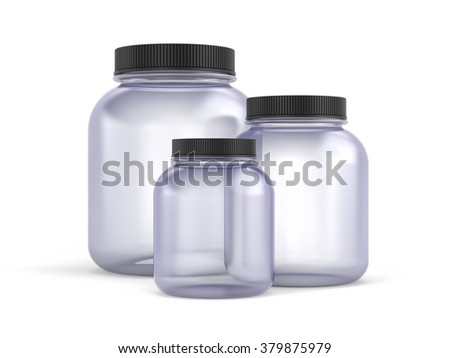 Glass Jars with  covers