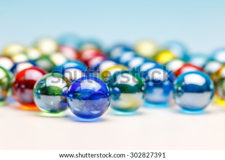 Glass Marble - stock photo