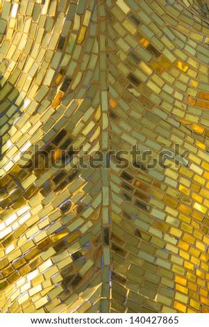 glass mosaic - stock photo