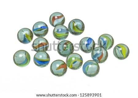 glass mumbles - stock photo