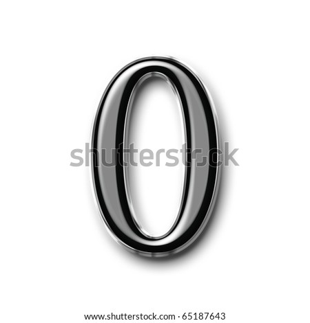 Glass number symbol