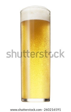 Glass of Beer - stock photo