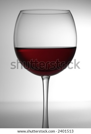 Glass of Red Wine 3 - stock photo
