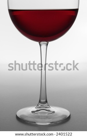 Glass of Red Wine 4 - stock photo