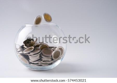 Glass Piggy box and gold coins saving money for future investment concept isolated on white & White Healthy Human Enamel Tooth Model Stock Photo 686167126 ... Aboutintivar.Com
