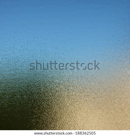Glass texture - stock photo