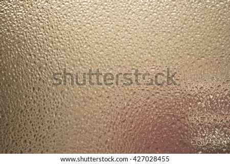Glass texture background with color reflection
