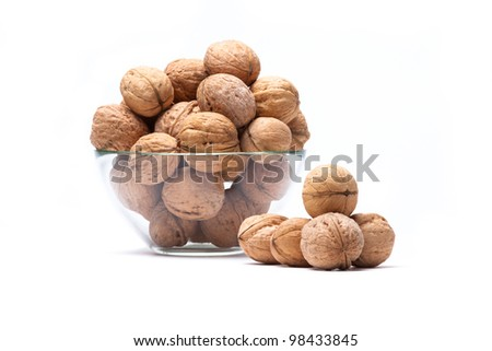 glass wine with cork from a bottle - stock photo