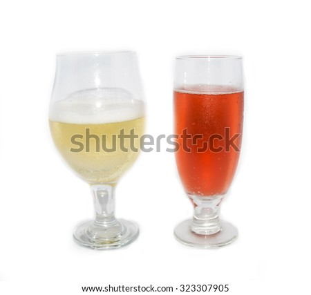 glass with apple cider