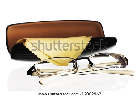 Glasses and case for it