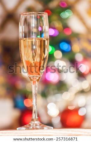 glasses filled with wine - stock photo