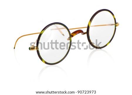 Glasses of a older more vintage model - stock photo