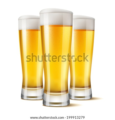 glasses of beer