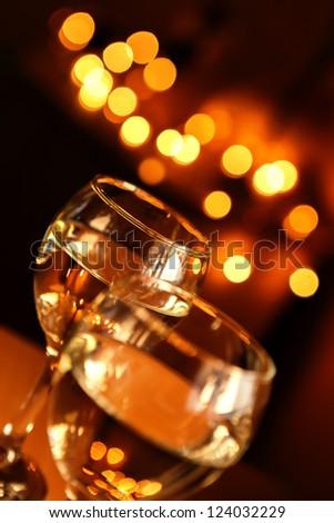 Glasses of wine - stock photo