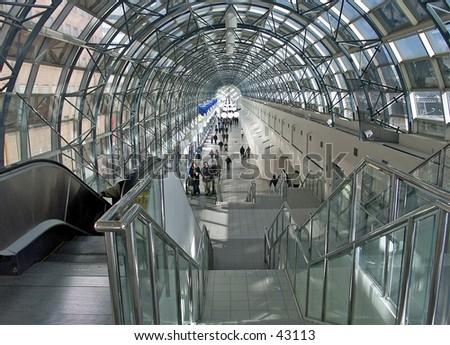 Glassway - stock photo