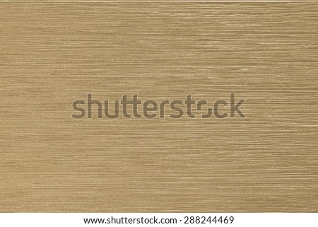 Glazed tile wall imitated wood grain texture background in yellow gold color tone  - stock photo
