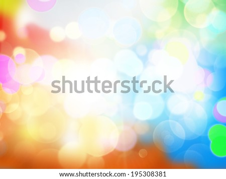 Gleaming festive birthday background with bokeh sparcle - stock photo