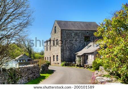 Gleaston Watermill, Cumbria, England - stock photo