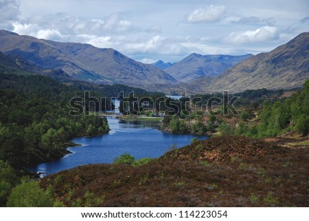 Glen Afric, Scottish Highlands, UK