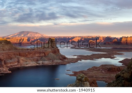 Glen Canyon National Recreation area, Alstrom point