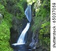 Glenariff Waterfalls, County Antrim, Northern Ireland - stock photo