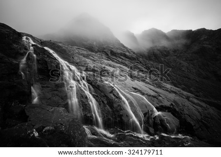 Glenbrittle, Skye, Scotland - stock photo