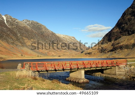 Glencoe. - stock photo