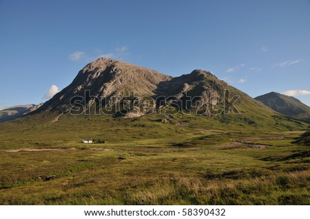 Glencoe ,scotland - stock photo