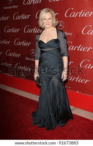 Glenn Close at the 23rd Annual Palm Springs International Film Festival Awards Gala, Palm Springs Convention Center, Palm Springs, CA 01-07-12