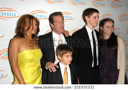 Glenn Frey and Family at the  10th Annual Lupus LA Orange Ball, Beverly Wilshire Hotel, Beverly Hills, CA. 05-06-10