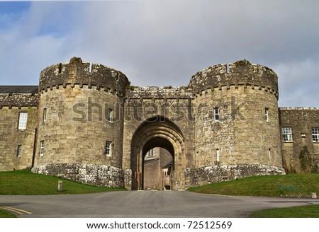 Glenstal Abbey in Co. Limerick - Ireland - stock photo