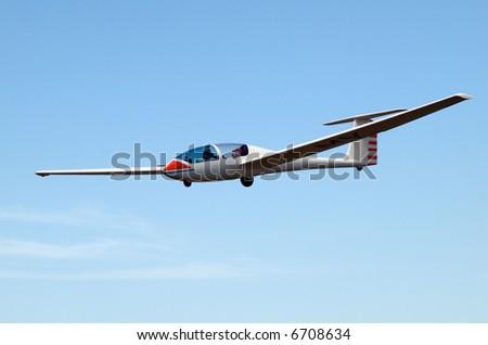 Glider Type G193 Twin II - stock photo