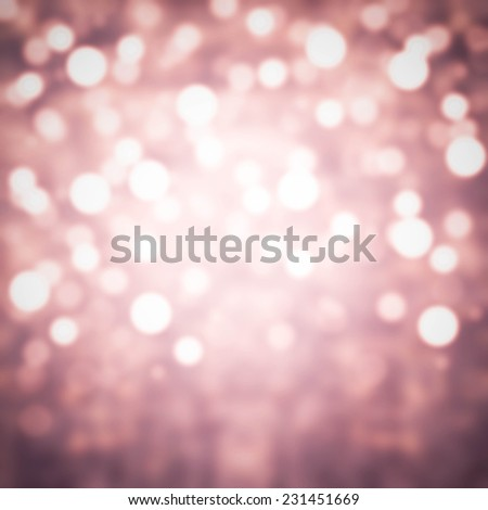Glitter Abstract Festive background. Christmas and New Year feast bokeh background with copyspace. Holiday party background with blurry boke special magic effect. - stock photo